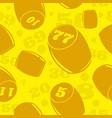 russian lotto vector image