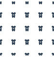 baby onesie icon pattern seamless white background vector image vector image