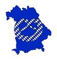 Bavarian Pretzel vector image vector image