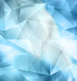 Crystal Blue Background vector image vector image