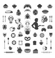 food design elements vector image vector image