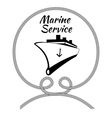 Graphic Design for Ship Cargo Companies vector image vector image
