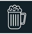 icon beer cold drink design vector image vector image