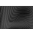 Abstract black waves and lines pattern design vector image vector image