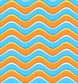 Abstract Colorful Waves Seamless Pattern vector image vector image