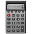 calculator realistic vector image vector image