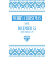 Happy New Year or Merry Christmas theme Save the vector image vector image