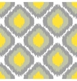 Ikat seamless pattern Abstract geometric vector image