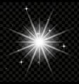 light effect lightning lens flare light effect vector image