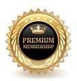 Premium Membership vector image vector image