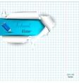 School Copyspace Paper vector image vector image