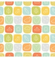Seamless simple summer pattern vector image vector image