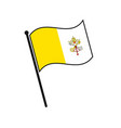 simple flag icon vector image vector image
