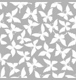 butterflies seamless patterns vector image vector image