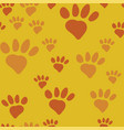 cats paw seamless vector image