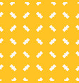 funky yellow minimalist seamless abstract pattern vector image