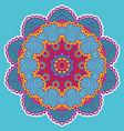 round colorful mandala vector image vector image