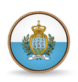 San Marino Seal vector image