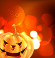 scary halloween design vector image vector image