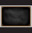 school board on a background of bricks vector image