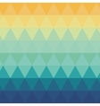 triangle ombre pattern background vector image