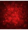 valentine bokeh background vector image