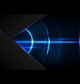 abstract digital technology future cyberspace vector image vector image