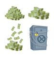Accumulation and Saving Money concept vector image vector image