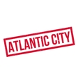 Atlantic City rubber stamp vector image vector image