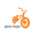 bike bmx logo vector image