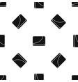 database pattern seamless black vector image vector image