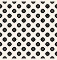 geometric seamless dotted squares cloth pattern vector image vector image