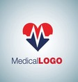 MEDICAL LOGO 9 vector image vector image