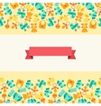 Seamless pattern with newborn baby icons vector image vector image