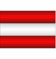 shiny flag of the austria vector image vector image