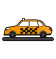 classic taxi icon image vector image