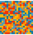 Colorful pixelated pattern vector image