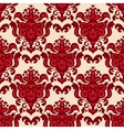 Damask Medallion Seamless pattern vector image vector image