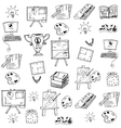 Doodle of Education object art vector image vector image