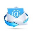 Email letter vector image