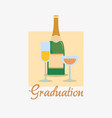 graduation design concept vector image