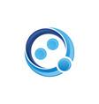 mediation logo design template vector image