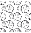Seamless pattern of cabbages vector image vector image