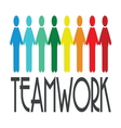 team work2 vector image vector image