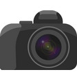 a image of a camera with a clearly vector image vector image