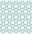 abstract seamless pattern of circles vector image vector image