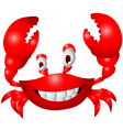 crab cartoon vector image
