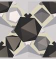 futuristic polygon backdrop vector image
