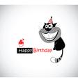 Happy Birthday KATS vector image vector image