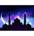 ramadan festival design vector image